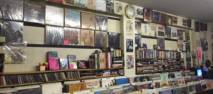Walls of New & Used Music